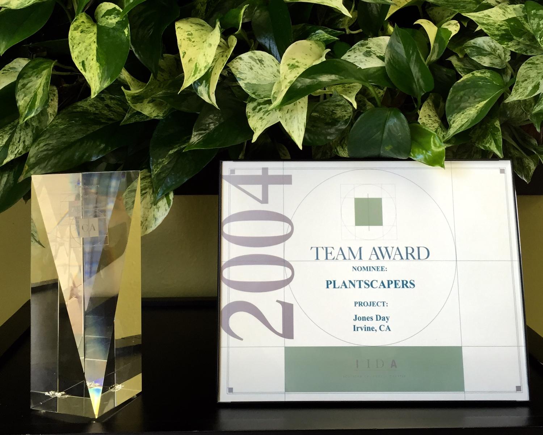 Home Interior Party Consultant Plantscapers Inc Received The Prestigious Calibre Award