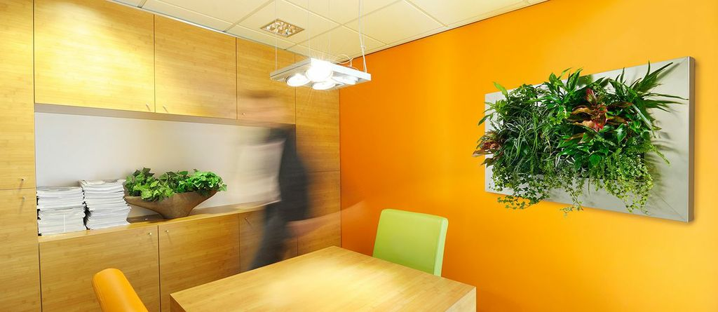 Innovative NEW Office Interior Idea: Suite Office Living Wall Art