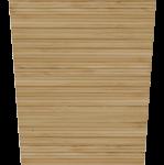 Natural Bamboo Tall Cylinder