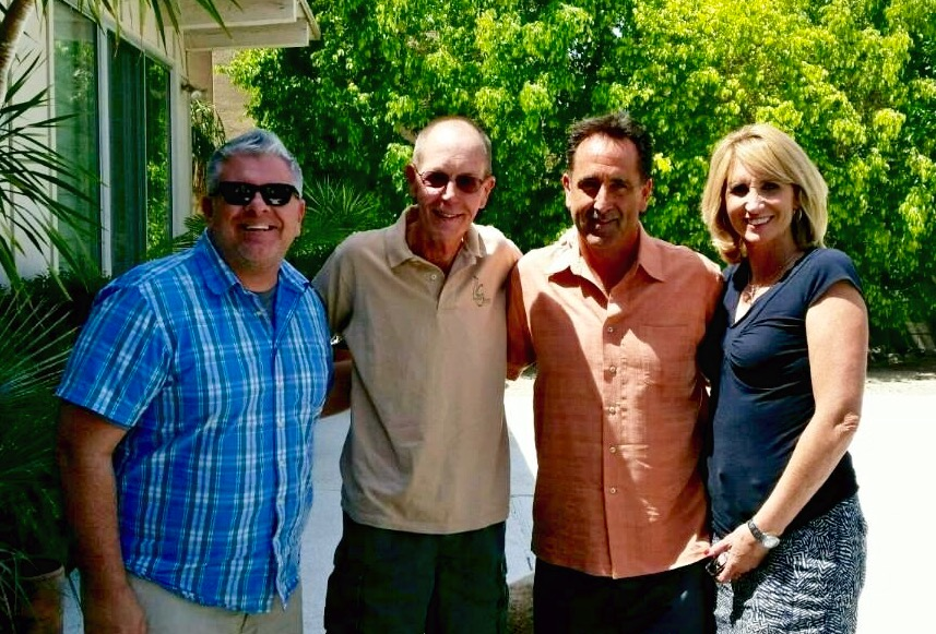 Jason Cupp Greg Eberly Mark Farrow Julie Farrow Designer Greens Palm Springs Plantscapers