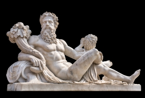 Zeus-statue-cornucopia